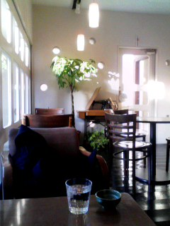 CAFE FLAT 5 店内