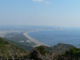 煙樹ヶ浜 from 西山