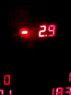 マイナス2.9℃ 110131_0546~001
