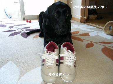 もうちょっとエエ靴買い~な~。