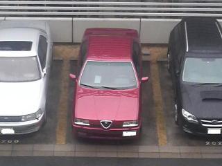 うちの駐車場