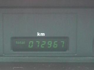 164納車時走行距離