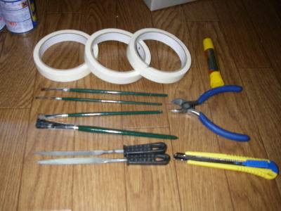 ビックバイパー製作 道具
