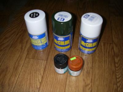 ビックバイパー 製作 塗料