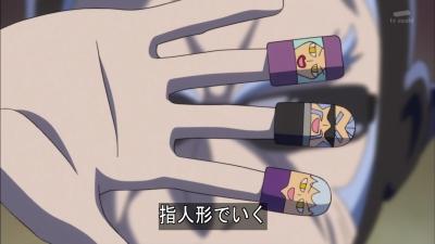 この指人形でいく!