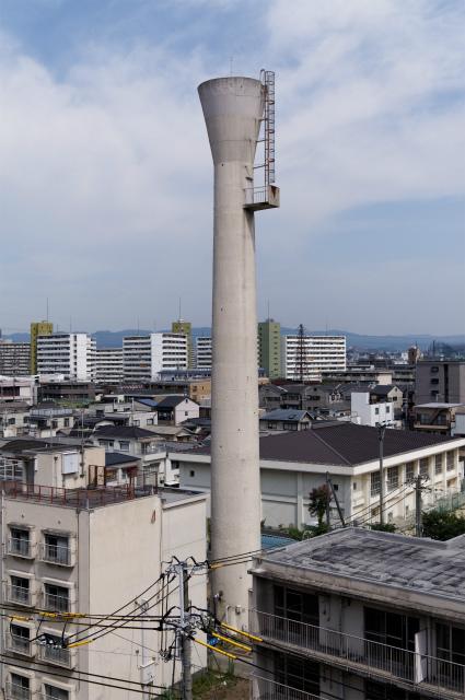 大阪市営瑞光住宅給水塔