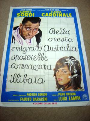 bello onesto - poster
