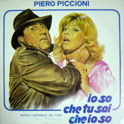 piero piccioni / io so che tu sai io so