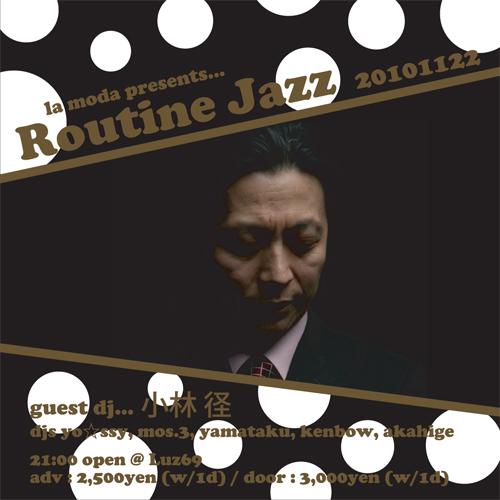 routine jazz 20101122
