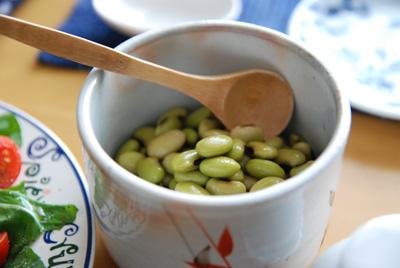 秋田の青豆