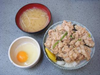 サッポロラーメン国立本店(ミニスタ丼¥450)
