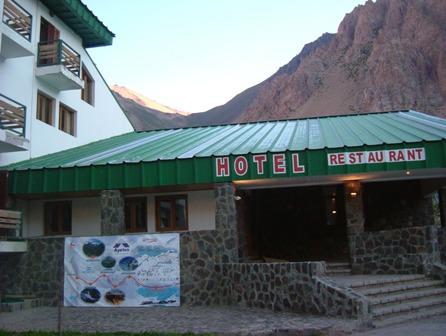 ペニテンテスで宿泊した Ayelen Hotel
