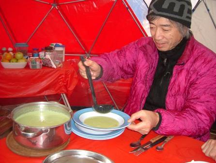 スープから始まり。