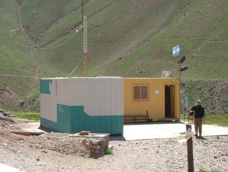 登山口にあるレンジャーの事務所