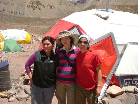 インカ・エクスペディションのスタッフはほとんど女性