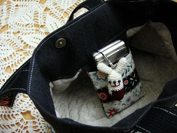 Hugbagの内側