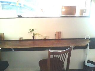 nijiiro-cafe カウンター席
