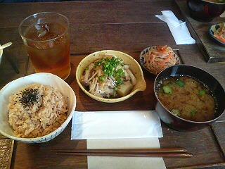 岡本 ランチ 2010.11.14
