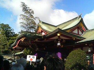 西宮神社 2011-1-10-2