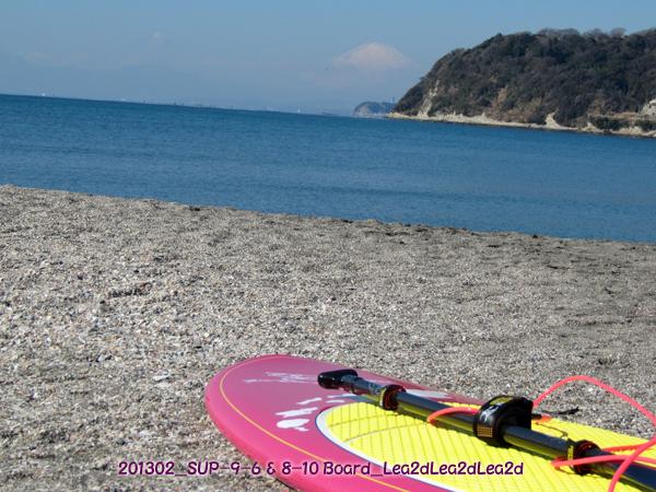 2012年2月SUP-size:9-6 & 8-10 Mt.Fuji