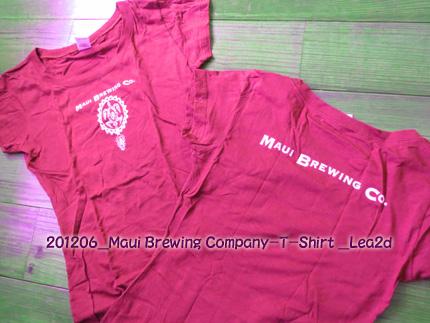 2012年6月 Maui Brewing Company-T-Shirt