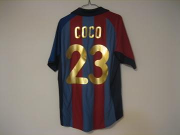 バルセロナ 01-02(H)#23coco#1