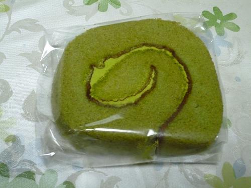 宇治抹茶ロールケーキ2