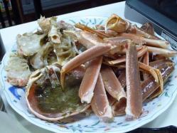 シェフで蟹6