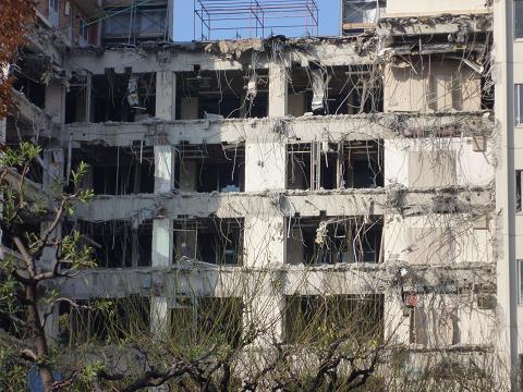 北市民病院解体2
