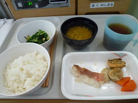 病院食110116昼