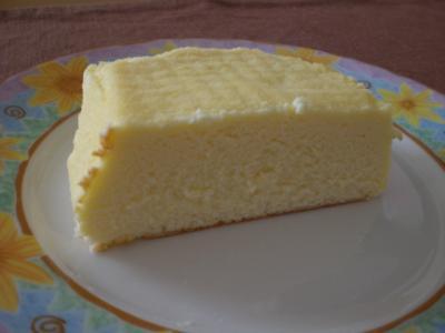 初チーズケーキ2