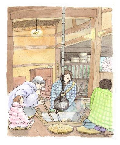 江戸東京たてもの園 綱島家(農家)