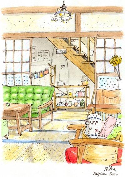 新島 カフェ+宿 サロ
