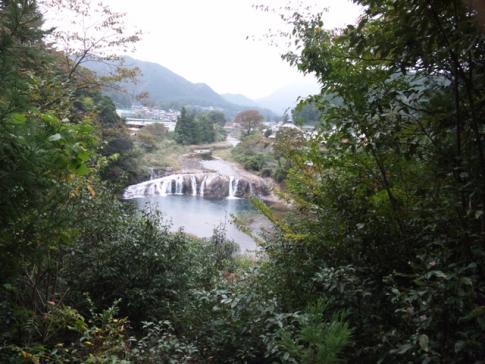 東栄町のナイアガラの滝