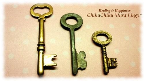 ミニチュアの鍵☆