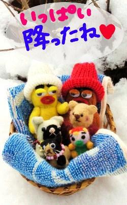2012年の雪6☆