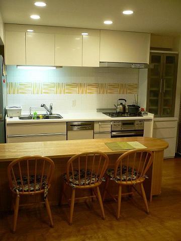 キッチン完成