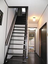階段室完成