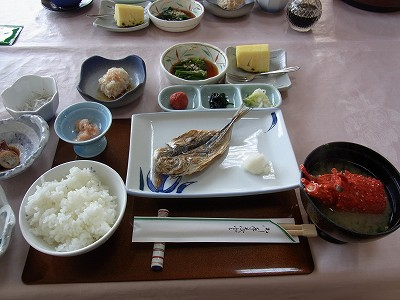 藍風亭 朝食