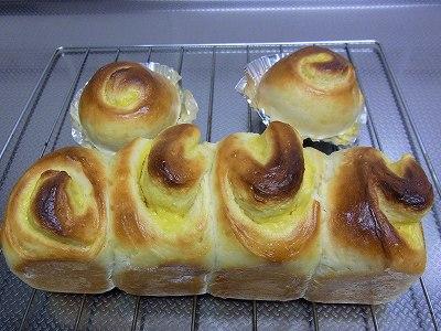 クリームロールパン