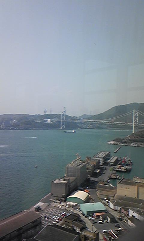 関門橋!!