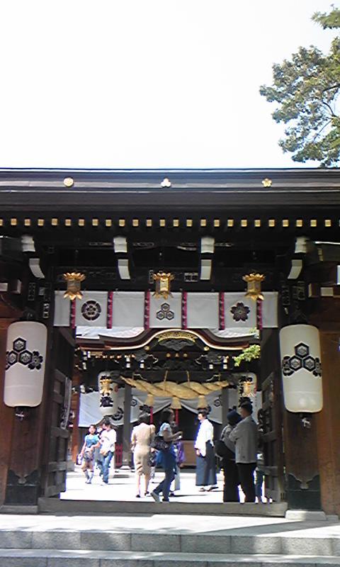 櫛田神社!!