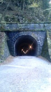 「あの」トンネル。不思議な空気。。