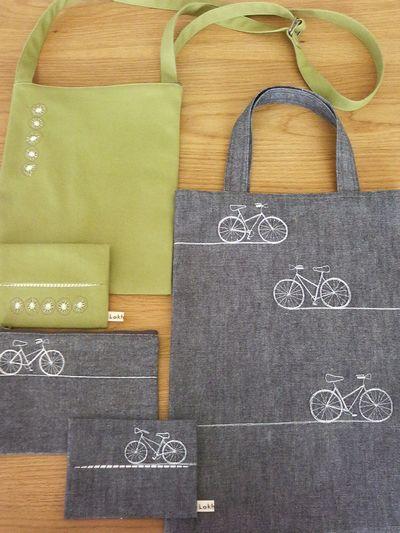自転車 キウィフルーツ