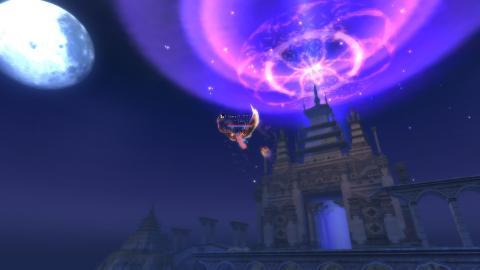万界城と月