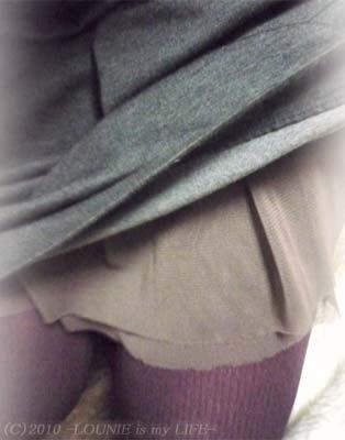 クリックで拡大!合わせたのは、Stola.(ストラ)'09春物のペチコートスカート