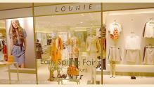 LOUNIE(ルーニィ)通販:ルーニィ2010春夏物:LOUNIE川崎 広い店内は、すっかり春色♪