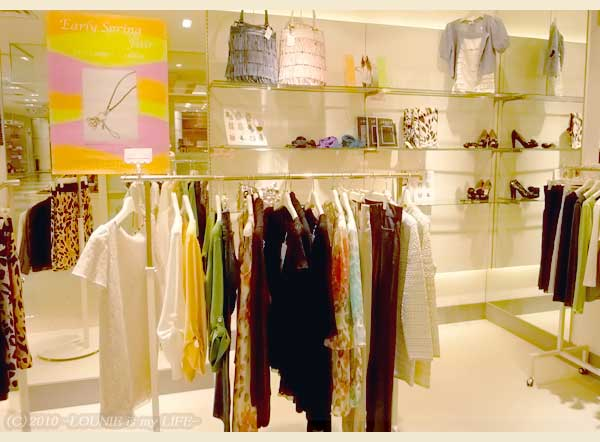 LOUNIE(ルーニィ)通販:LOUNIE(ルーニィ)2010春物★フェアー始まっていますね!LOUNIE川崎BE店を見てきました♪