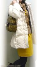LOUNIE(ルーニィ)通販:真冬の雪の日もマスタードカラーで元気に過ごせるコーデ!はからずもルーニィの雑誌掲載Items大集合^^