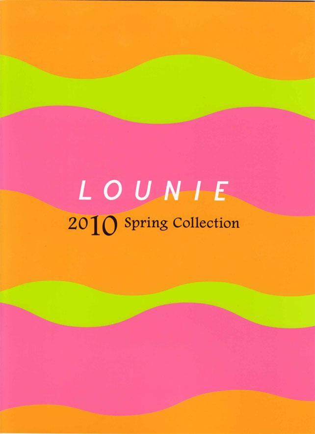 LOUNIE(ルーニィ)通販:LOUNIE(ルーニィ)2010春物:ルーニィ公式カタログ2010年SpringCollectionの実物大です!ルーニィの'10春展示会も要チェックです♪